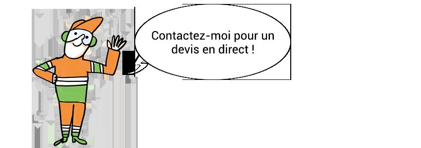 Mascotte - Appel à l'action - Contact