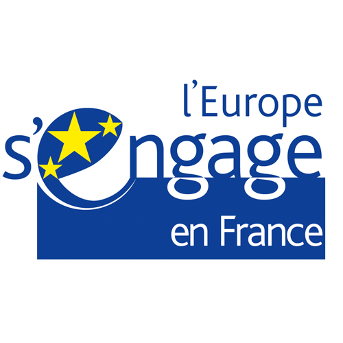 Logo Fonds Social Européen - Partenaire Envie Orléans